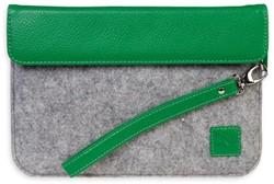 """Gecko PU/Felt 7"""" Sleeve groen"""