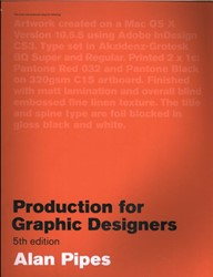 Production for Graphic Designers Pipes, Alan