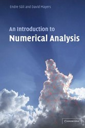 An Introduction to Numerical Analysis Suli, Endre