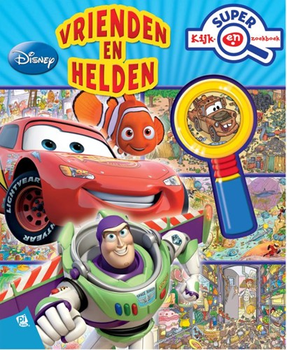 Disney Pixar Vrienden en Helden super ki
