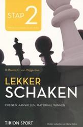 Lekker schaken stap -de nieuwe methoden om goed te leren schaken Wijgerden, Cor van