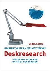 Deskresearch, 3e editie met MyLab NL toe -informatie zoeken en kritisch beoordelen Ven, Maarten van