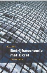 Bedrijfseconomie met Excel Ots, H.J.