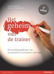 Het geheim van de trainer -de hoofdingredienten van succ esvolle (in-company) traininge Kaufman, Lianne