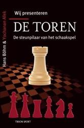 Wij presenteren de toren -de steunpilaar van het schaaks pel Bohm, Hans