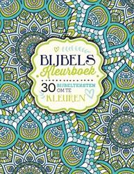 Bijbels kleurboek -30 Bijbelteksten om te kleuren