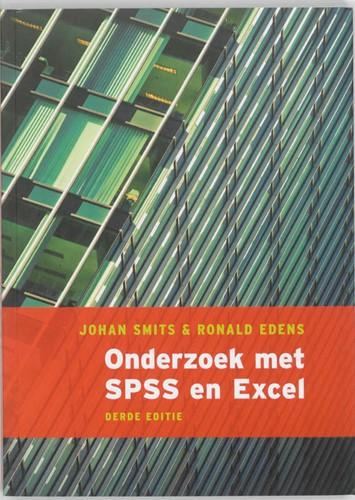 Onderzoek met SPSS en Excel Smits, Johan
