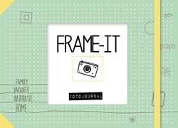 Frame it & save it! -Fotojournal voor de mooiste he rinneringen