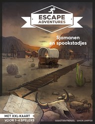 Escape room adventures 4 -sjamanen en spookstadjes Frenzel, Sebastian
