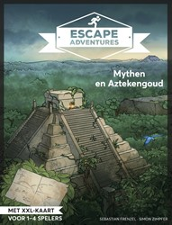 Escape room adventures 3 -Mythen en Aztekengoud Frenzel, Sebastian