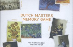 Dutch Masters Memory Game -find the paintings by the same artist