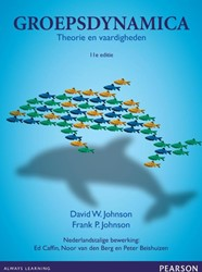 Groepsdynamica, met MyLab NL toegangscod -theorie en vaardigheden Johnson, David