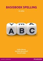 Basisboek spelling met MyLab NL toegangs Moons, Aafke