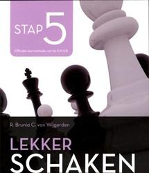 Lekker schaken stap -de nieuwe manier om goed te le ren schaken Wijgerden, Cor van