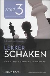 Lekker schaken stap -de nieuwe om goed te leren sch aken Wijgerden, Cor van