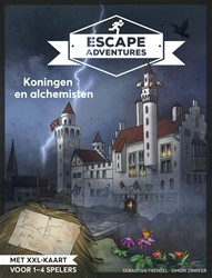 Escape room adventures 1 -Koningen en Alchemisten Frenzel, Sebastian