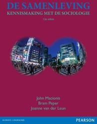 De samenleving, 12 editie -kennismaking met de sociologie Macionis, John