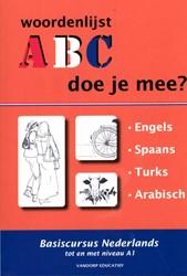 ABC - Doe je mee? -basiscursus Nederlands tot en met niveau A1 Knaap, R. van der