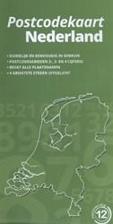 Postcodekaart Nederland -alle 2,3 en 4 cijferige postco des