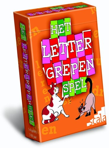 Het Lettergrepenspel -S Scala leuker leren