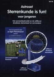 Astroset 'Sterrenkunde is fun!& -het zonnestelselmodel en de ze lfbouw draaibare sterrenkaart Walrecht, Rob
