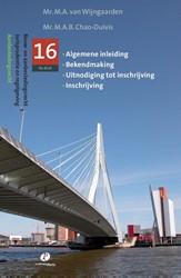 Jurispudentie en regelgeving -algemene inleiding,bekendmakin g, uitnodiging tot inschrijvin Wijngaarden, M.A. van