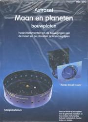 Astroset maan en planeten (bouwplaten) -twee instrumenten om de bewegi ngen van de maan en de planete Walrecht, Rob
