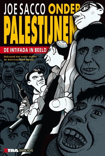 Onder Palestijnen -de intifada in beeld Sacco, Joe