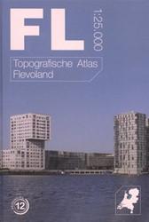 Topografische atlas van Flevoland -schaal 1:25.000 Termeulen, Thomas