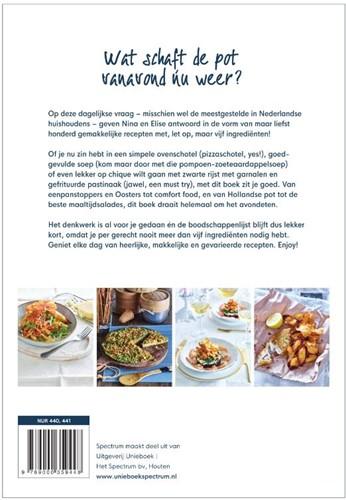 Chickslovefood - Het daily dinner-kookbo -100 x avondeten met maar 5 ing redienten Gruppen, Elise-2