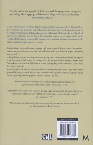 De Thibaults -roman Martin du Gard, Roger-2