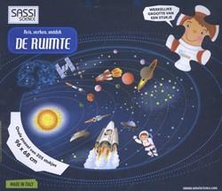 Sassi - Reis, verken, ontdek DE RUIMTE -ovale puzzel van 205 stukjes e n boekje
