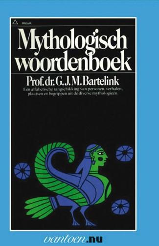 Mythologisch woordenboek -BOEK OP VERZOEK Bartelink, G.J.M.