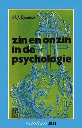 Zin en onzin in de psychologie -BOEK OP VERZOEK Eysenck, Hans