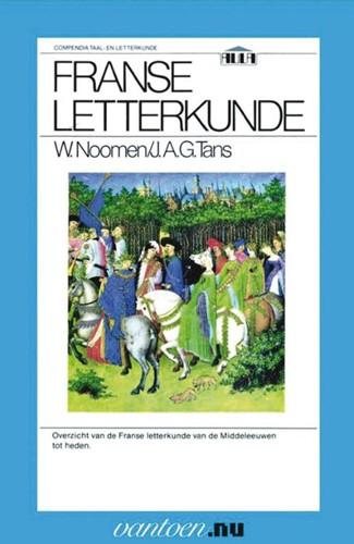 Franse letterkunde -BOEK OP VERZOEK Noomen, W.