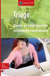 Triage -klacht- en patientgerichte te lefonische communicatie Derkx, Hay
