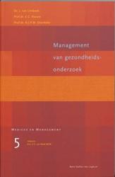 Management van gezondheidsonderzoek -9031330604-W-GEB Limbeek, J. van