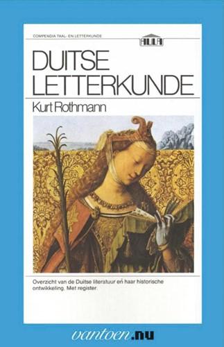 Duitse letterkunde -BOEK OP VERZOEK Rothman, K.
