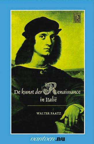 Kunst der Renaissance in Italie -BOEK OP VERZOEK Paatz, W.