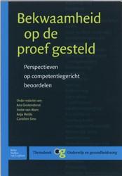 Docentenreeks Bekwaamheid op de proef ge -perspectieven op competentiege richt beoordelen