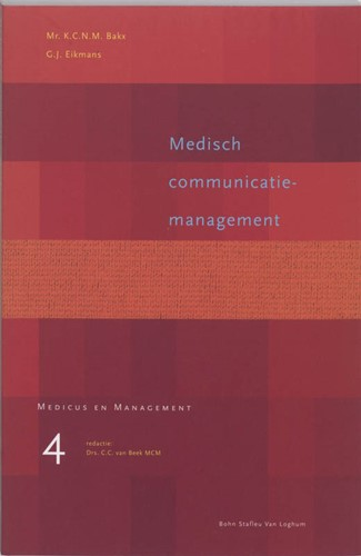 Medisch communicatiemanagement -9031330590-W-GEB Bakx, K.C.N.M.