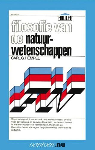 Filosofie van de natuurwetenschappen -BOEK OP VERZOEK Hempel, C.G.