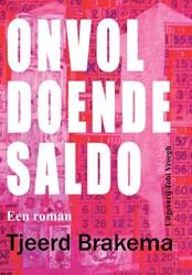 ONVOLDOENDE SALDO -EEN ROMAN BRAKEMA, TJEERD