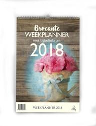 Weekplanner Brocante 2018 -met bijbeltekst