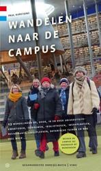 Wandelen naar de campus -13 wandelingen op, door, in en over universiteitskwartieren, Kurstjens, Paul