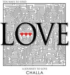 Find love -EEN MODERN-ART KUNST EN PUZZEL BOEK OM IN TE VERDWALEN MET LI Challa, Berend-Jan