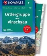 Ortlergruppe und Vinschgau -Wanderfuhrer mit Extra-Touren karte 1:50.000, 60 Touren, GPX Foger, Manfred