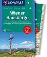 Wiener Hausberge -Wanderfuhrer mit Extra-Touren karte 1:80.000, 60 Touren, GPX Heriszt, Werner