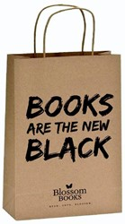 Books are the new black papieren tasje o -books are the new black