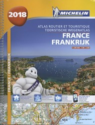 Atlas Michelin Frankrijk 2018
